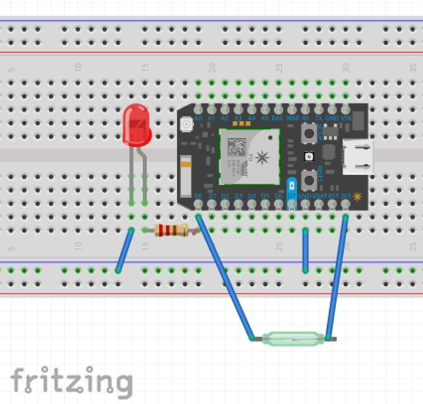 Iot garage circuit