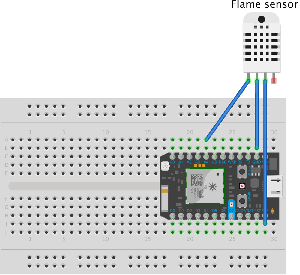 Flame sensor test